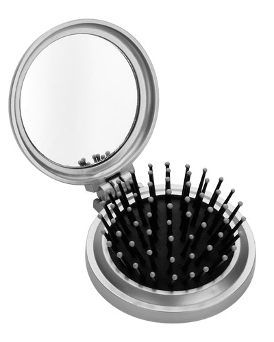 Espelho de Bolsa Personalizado - Espelho com Escova Personalizado