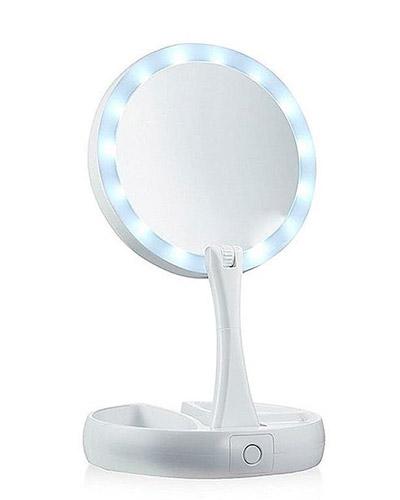 Espelho de Bolsa Personalizado - Espelho de Maquiagem Personalizado