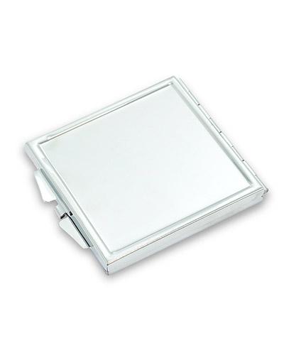 Espelho de Bolsa Personalizado - Espelho Quadrado Personalizado para Brindes