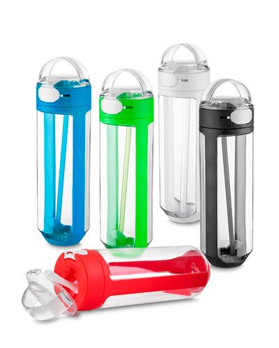 Squeeze Plástico - Garrafa de Água Colorida Personalizada