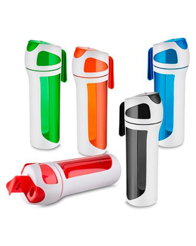 Squeeze Plástico - Garrafa de Água para Academia Personalizada