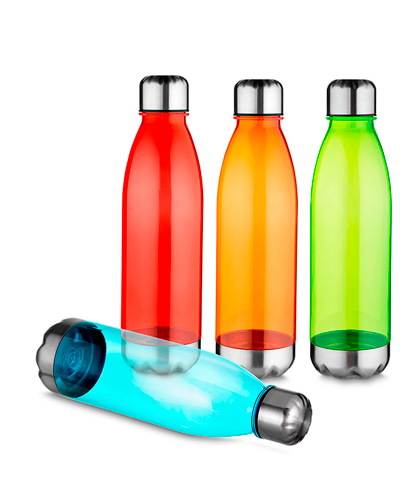 Squeeze Plástico - Garrafa de Água Personalizada