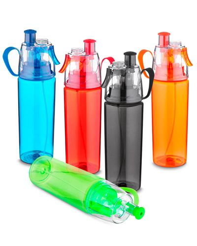 Squeeze Plástico - Garrafa Plástica com Spray Personalizado