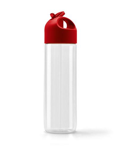 Squeeze Plástico - Garrafa Squeeze Personalizado com Canudo