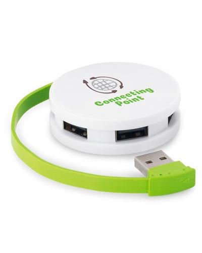 Hub Personalizado - Hub USB Colorido Personalizado