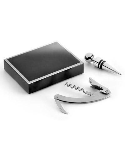 Kit Vinho Personalizado - Kit Abridor de Vinho Personalizado