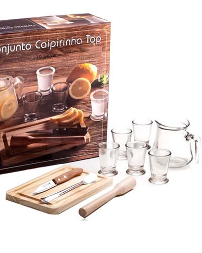Kit Caipirinha - Kit Caipirinha Personalizado 10 peças