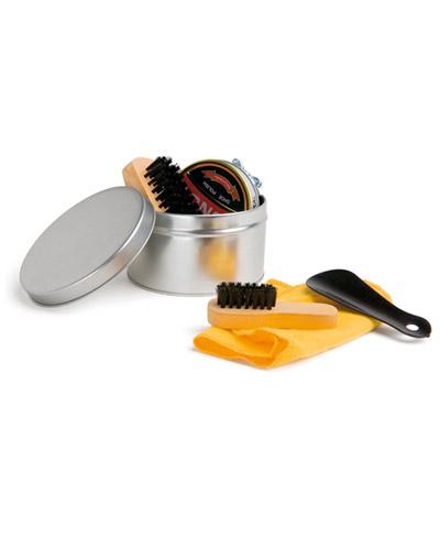 Kit de Viagem - Kit caixa de Engraxar e Polimento de Sapato Personalizado