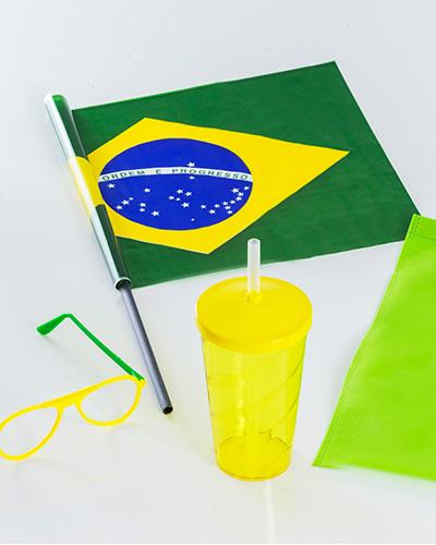 Kit Torcedor - Kit Copa do Mundo 2018