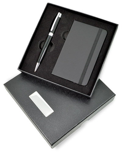 Moleskine Personalizado - Kit Corporativo para Executivos