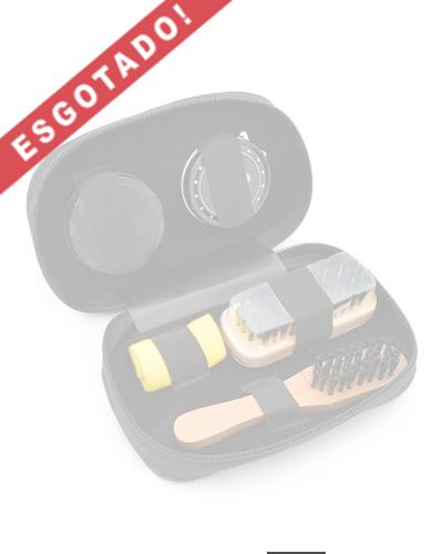 Brindes Personalizados -  Kit Engraxate Personalizado para Viagens