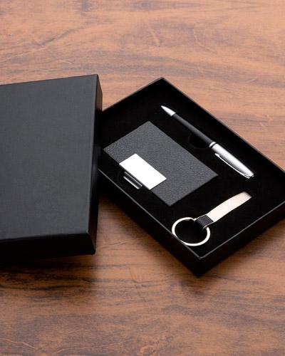 Porta Cartão - Kit Executivo para Escritorio Personalizado