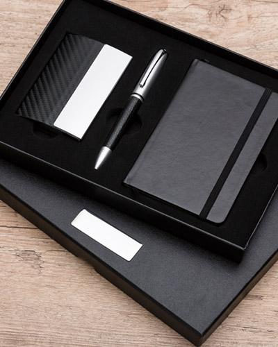 Moleskine Personalizado - Kit Executivo Personalizado para Brinde