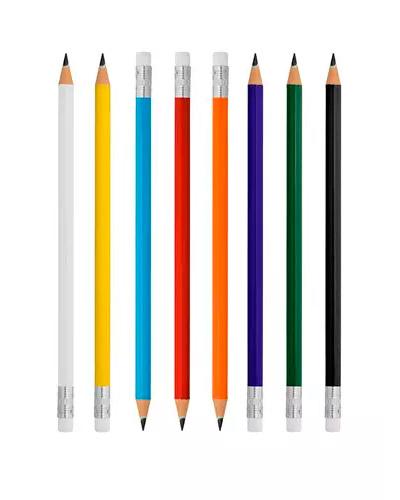 Lápis Personalizado - Lápis com Borracha Promocional