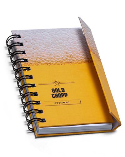 Moleskine Personalizado - Mini Caderneta Personalizada