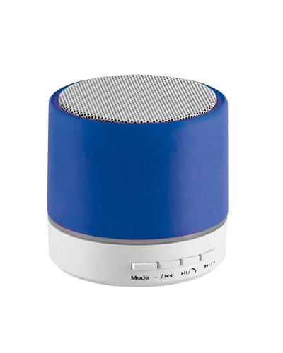 Novembro Azul - Mini caixa de som Azul Personalizada