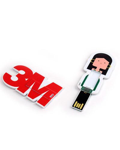Pen drive Estilizado - Mini Pen Card Personalizado