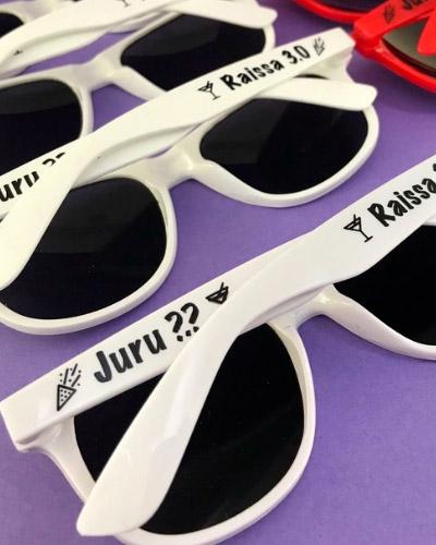 Oculos Personalizados - Oculos de Festa Personalizados