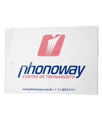 Pasta Plástica Personalizada - Pasta de PVC Personalizada