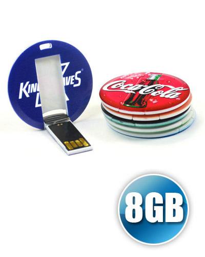 Pen card Personalizado - Pen card 8GB Personalizado para Brinde