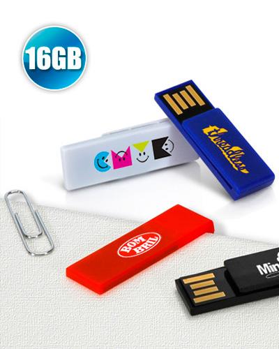 Pen Drive Personalizado - Pen drive 16GB Clip para Brindes