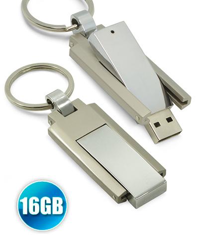 Pen Drive Personalizado - Pen drive 16GB modelo Chaveiro Personalizado