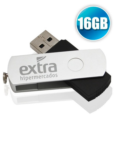 Pen Drive Personalizado - Pen Drive 16GB Tipo Canivete Personalizado