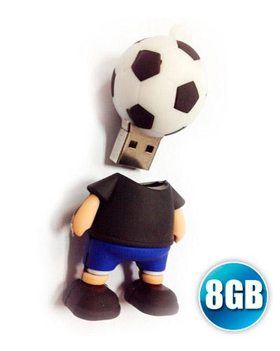 Pen drive 3D 8GB Customizado em Borracha