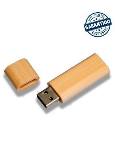 Pen Drive Personalizado - Pen drive 4 gb de Bambu Personalizado