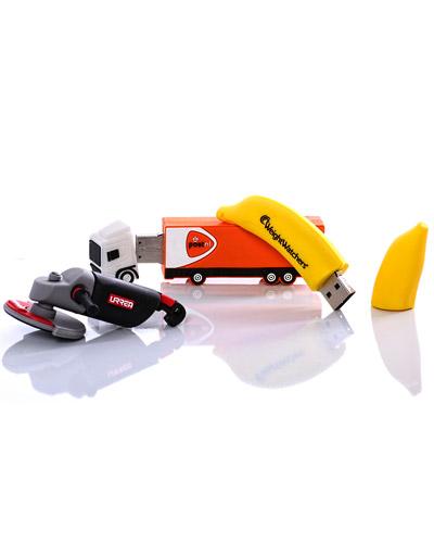 Pen drive Emborrachado - Pen drive 4GB Emborrachado 3D