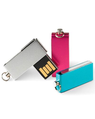 Pen Drive Personalizado - Pen drive 4GB Giratório MSM