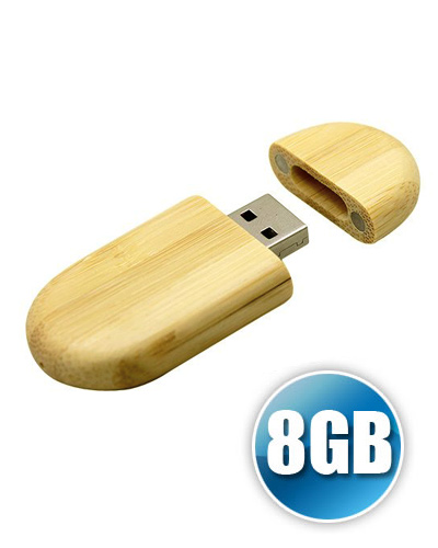 Pen drive 8 GB Ecológico com Tampa