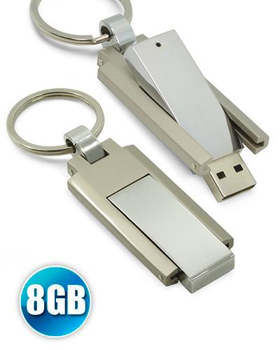 Pen Drive Personalizado - Pen drive 8GB Chaveiro de Metal