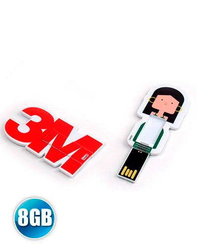 Pen drive Estilizado - Pen drive Card Personalizado