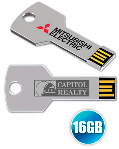 Brindes Personalizados -  Pen drive Chave 16GB