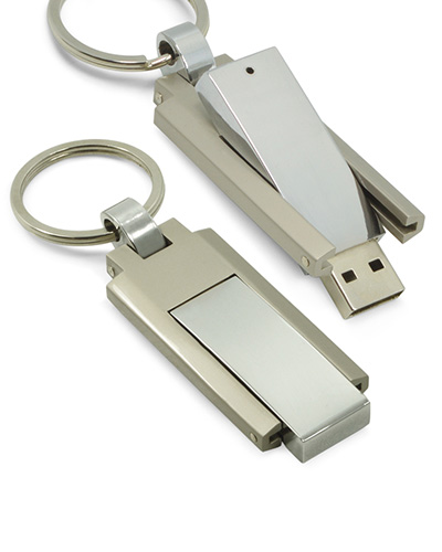 Brindes Personalizados -  Pen drive Chaveiro de Metal