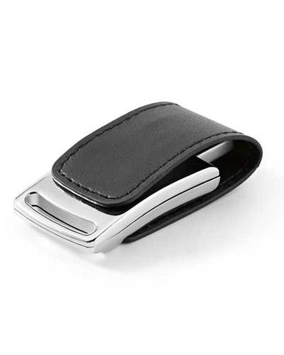 Pen Drive Couro - Pen drive em Couro com Imã Personalizado