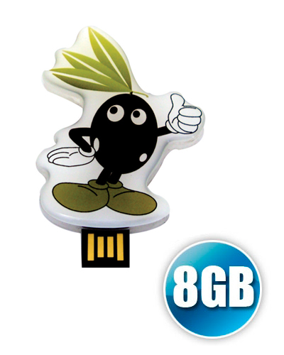 Pen drive Estilizado - Pen drive Estilizado 8GB