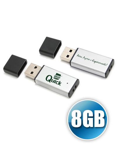 Pen Drive Personalizado - Pen drive para Brinde 8GB