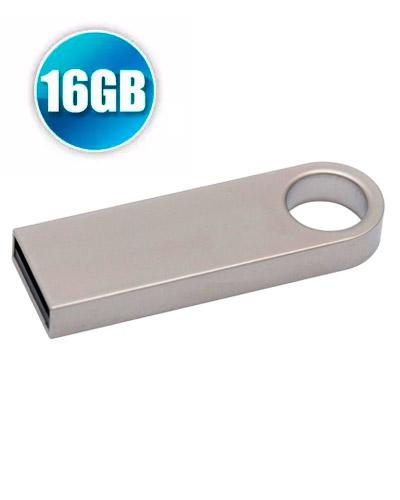 Pen Drive Personalizado - Pen Drive Personalizado 16GB Metálico