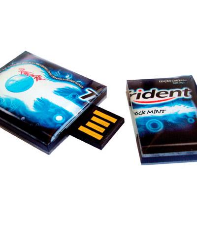 Pen drive Estilizado - Pen drive Retrátil Estilizado