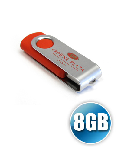 Pen Drive Personalizado - Pen Drive SM com 8 GB