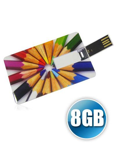 Pen Drive Personalizado - Pencard 8GB Personalizado