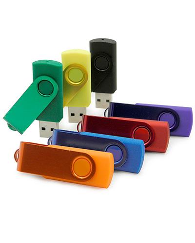 Pen Drive Personalizado - Pendrives Coloridos para Brindes