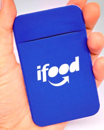 Novembro Azul - Porta Cartão Azul Personalizado