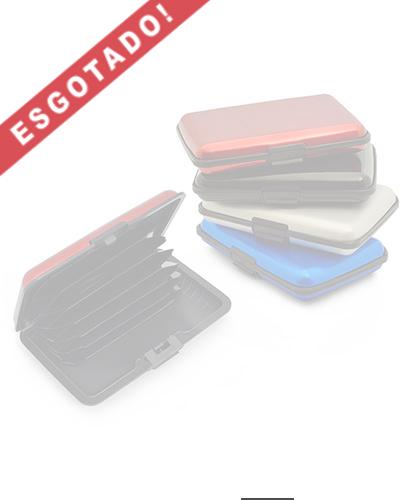 Porta Cartão - Porta Cartão de Crédito Personalizado