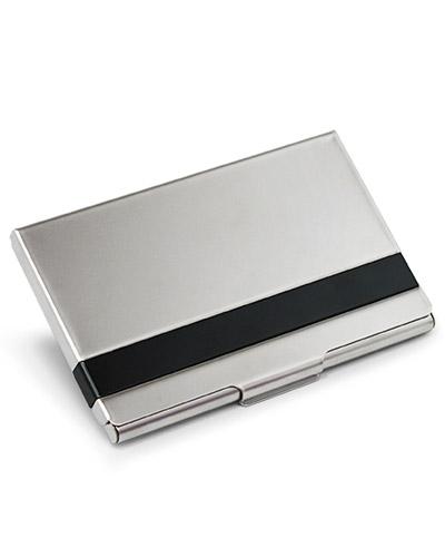 Porta Cartão - Porta Cartão de Visita Aluminio para Brindes