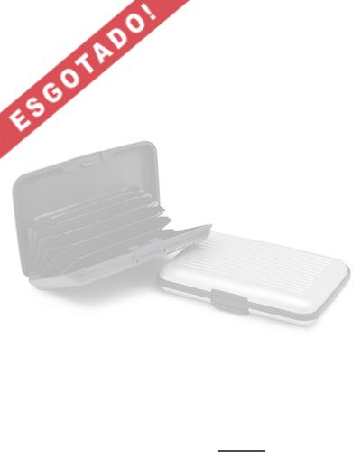 Porta Cartão - Porta Cartões de Visita em Plástico