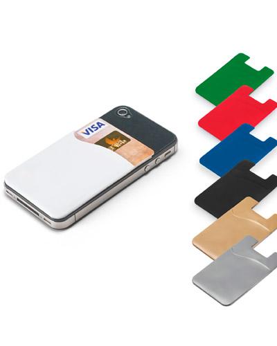 Capa Iphone - Porta Cartões Para Smartphone Personalizado