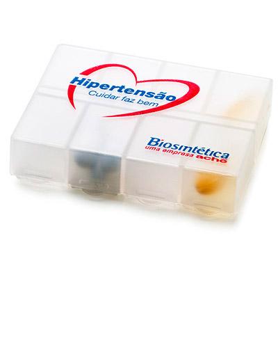 Porta Comprimido Personalizado - Porta Comprimidos para Brinde